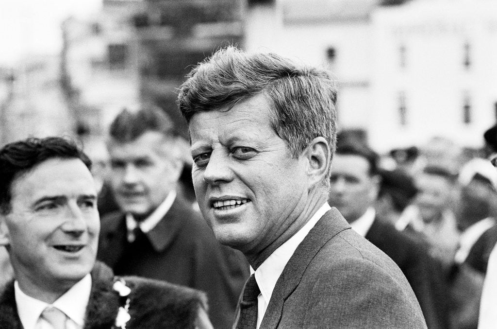 Detail of JFK Visit to Eire 1963 by Smith