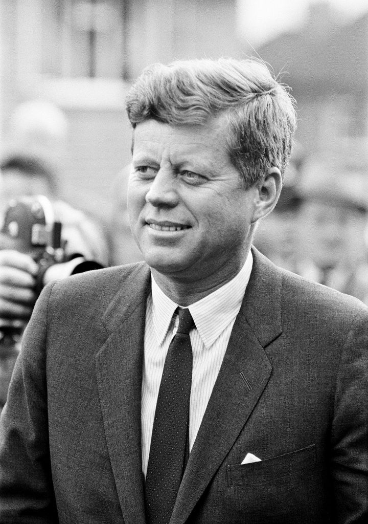 Detail of JFK Visit to UK 1963 by Smith