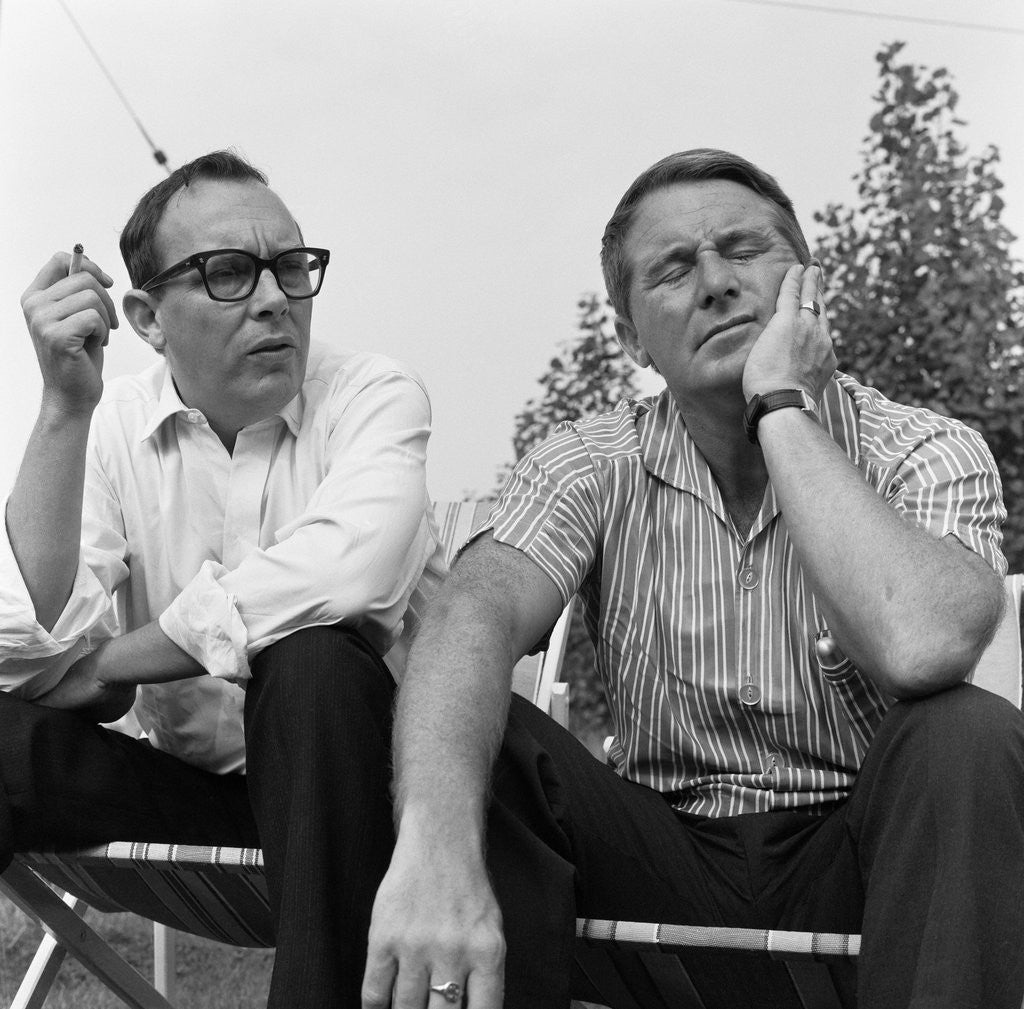 Detail of Morecambe & Wise 1964 by George Greenwell