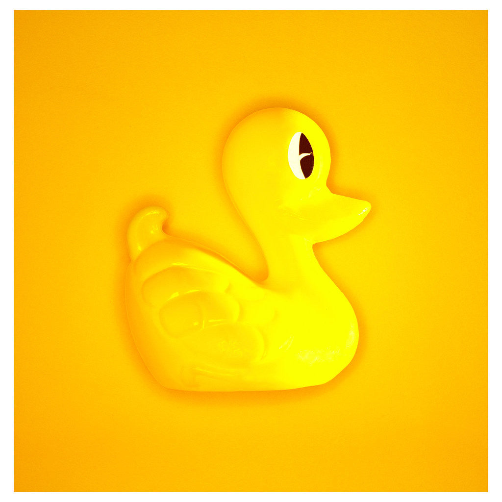 Detail of Rubber Duck by Cameron Rossi