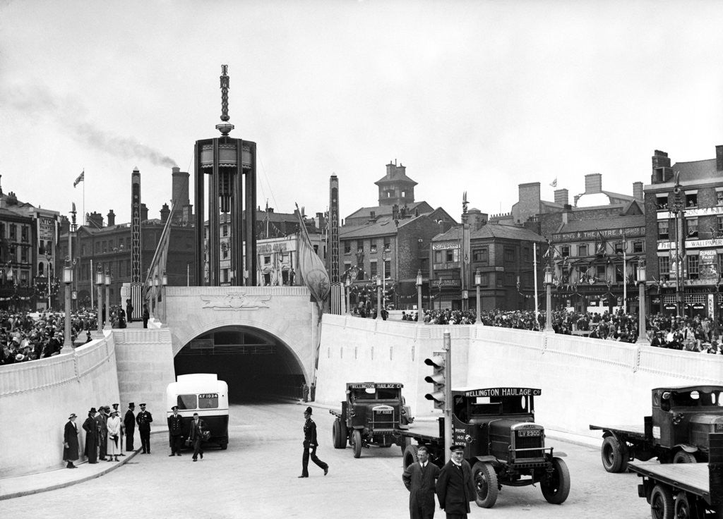 Detail of Mersey Tunnel Opening by unknown