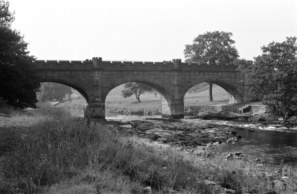 Detail of Bolton Abbey 1970 by Staff