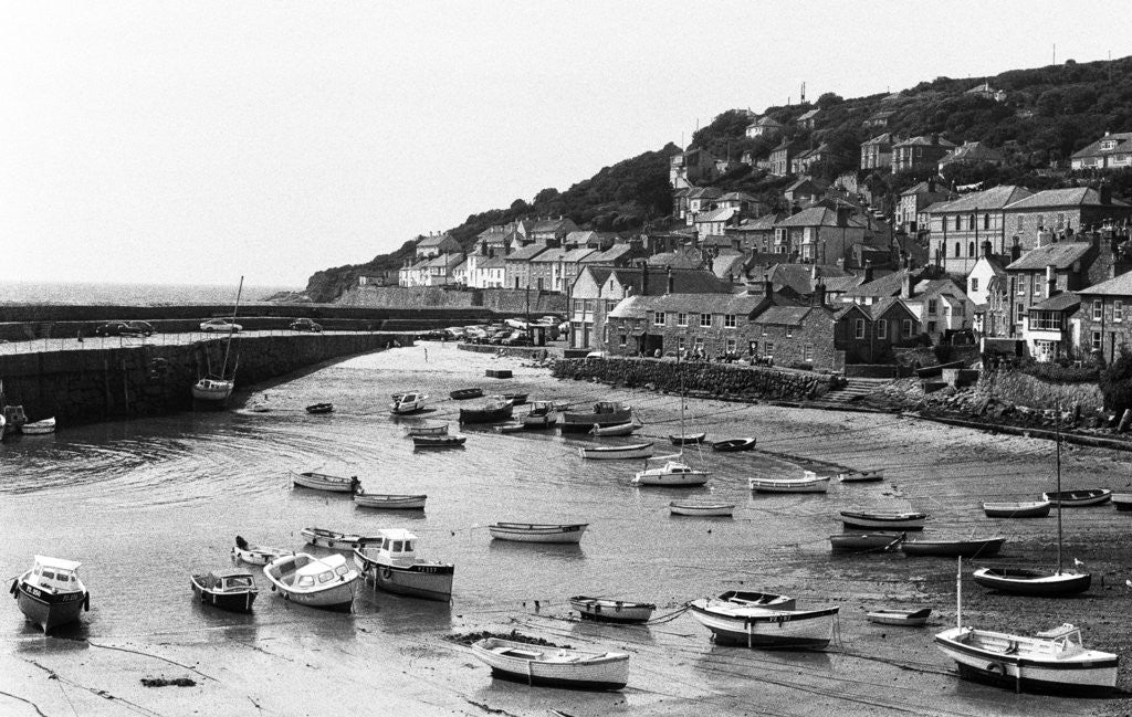 Detail of Mousehole Harbour 1975 by Staff