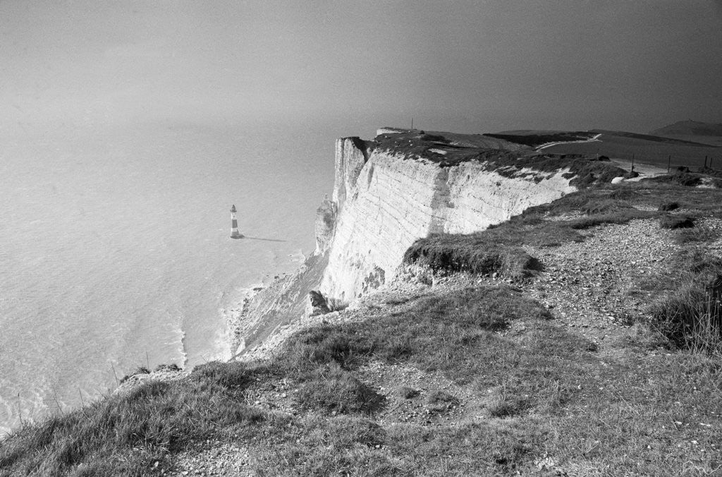 Detail of Beachy Head 1986 by Tonks