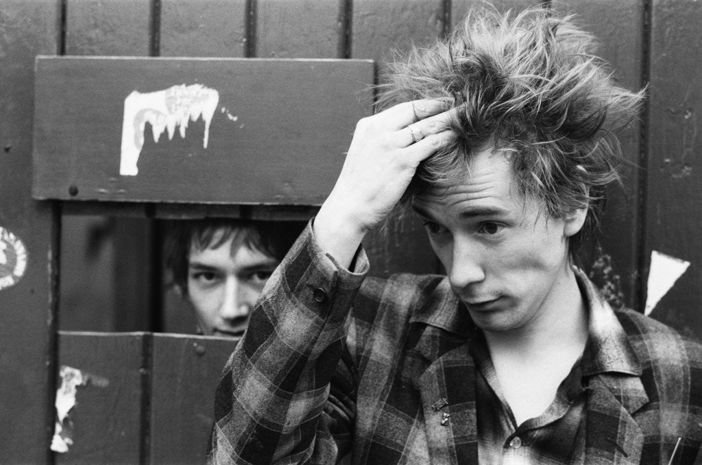 Detail of Sex Pistols 1981 by Mike Maloney
