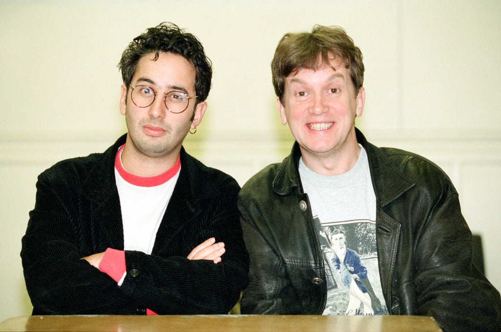 Frank Skinner and David Baddiel, 1994 by Derry