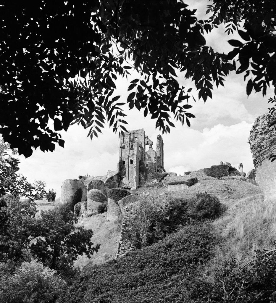 Detail of Corfe Castle, 1952 by Daily Mirror