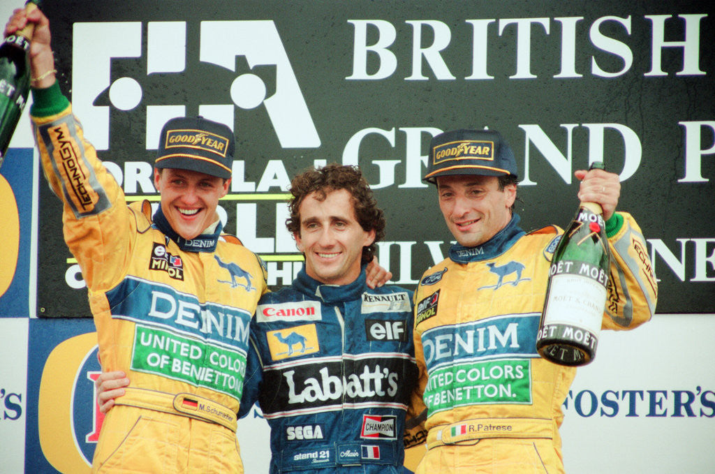 Detail of British Grand Prix 1993 by Birmingham Post and Mail Archive