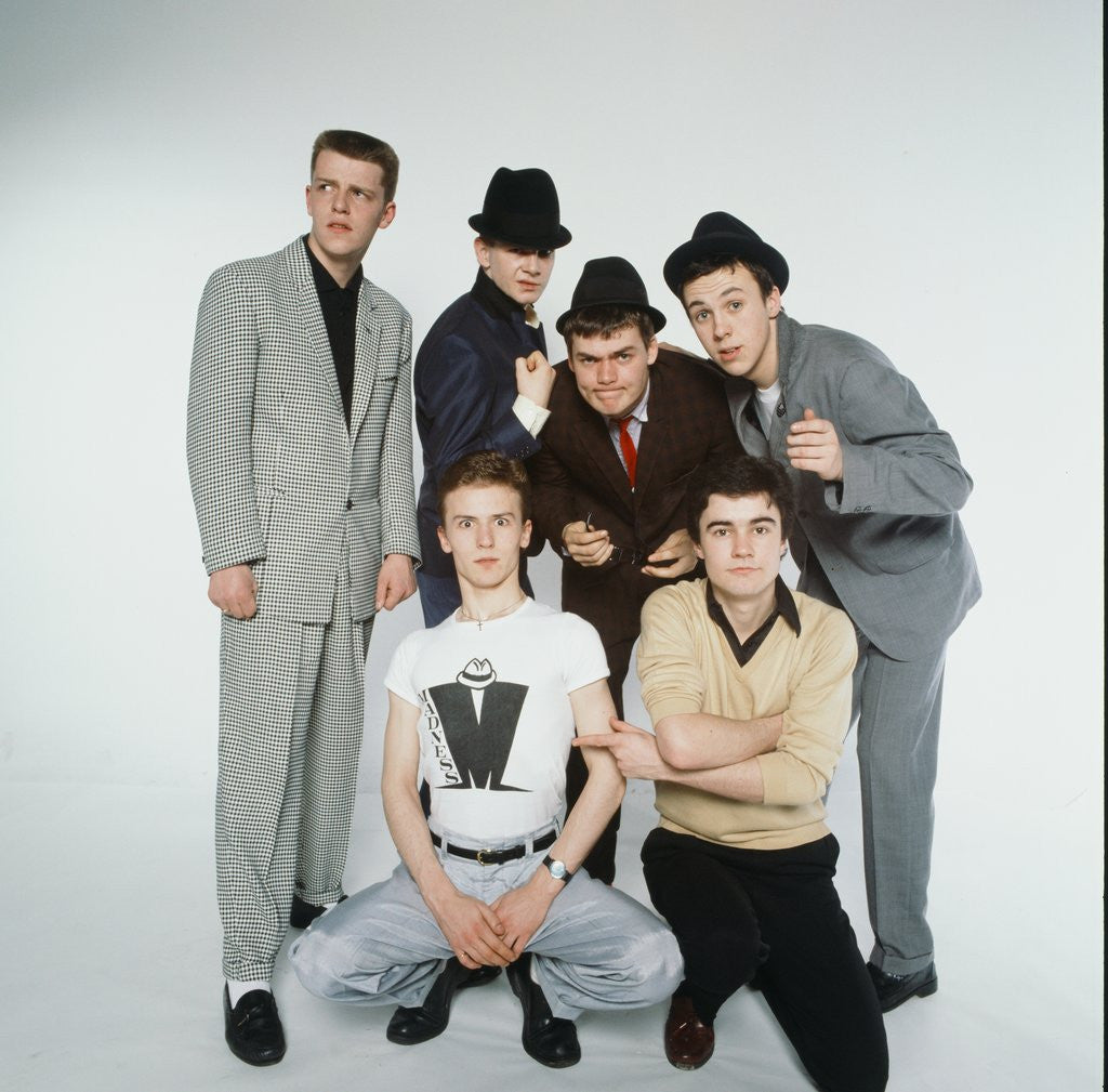 Detail of Madness Pop Group 1980 by Kent Gavin