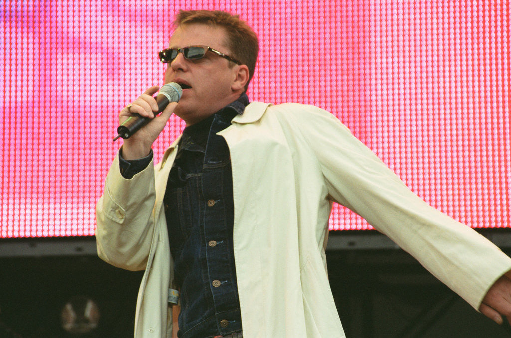 Detail of Suggs at Party In the Park 1999 by Young