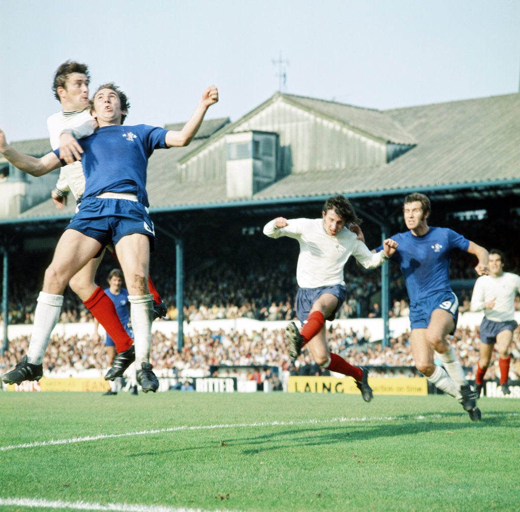 Detail of Chelsea v Derby County, 1971 by Staff