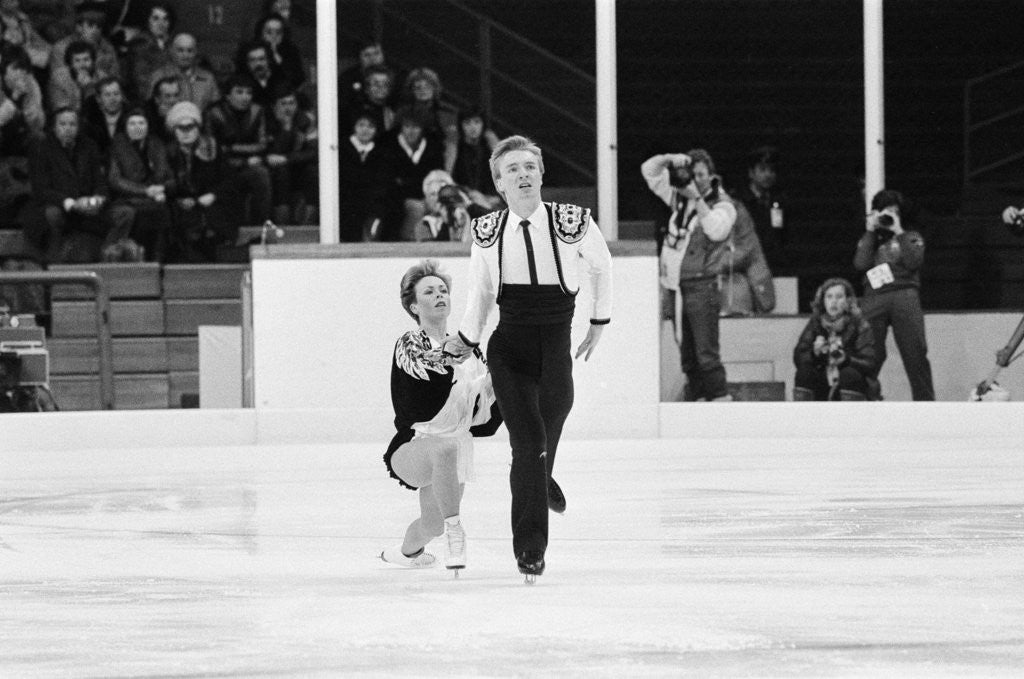Detail of Torvill and Dean by Monte Fresco