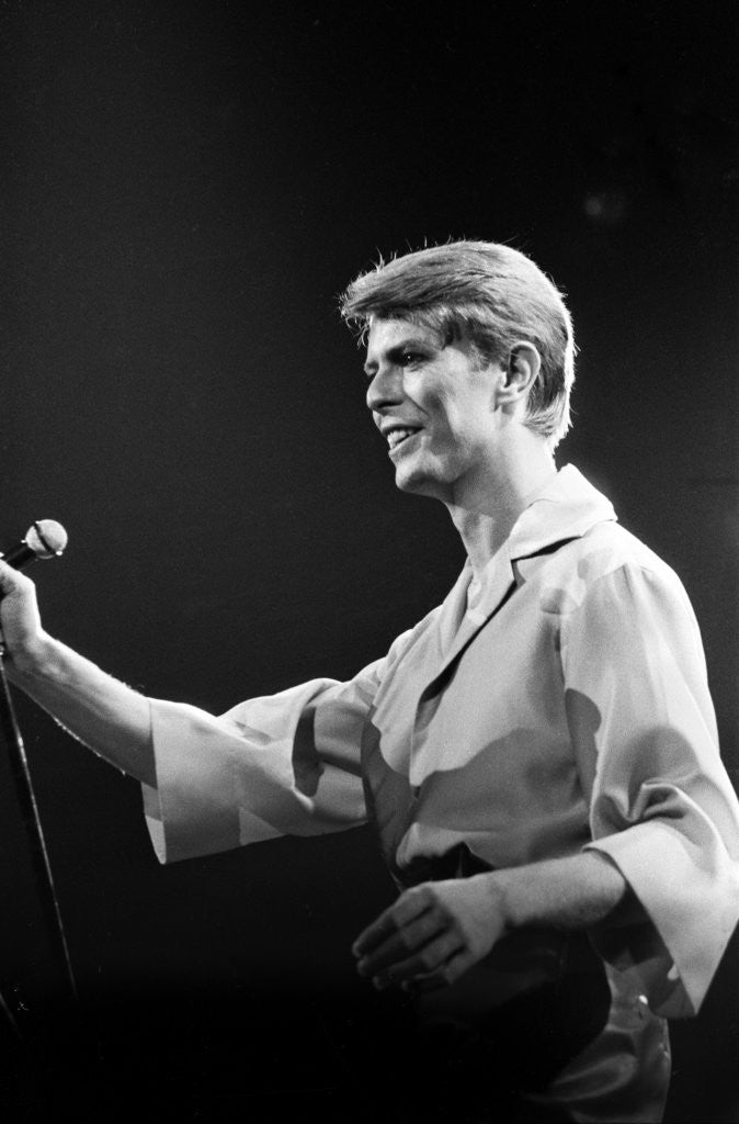 Detail of David Bowie 1978 by Allan Olley