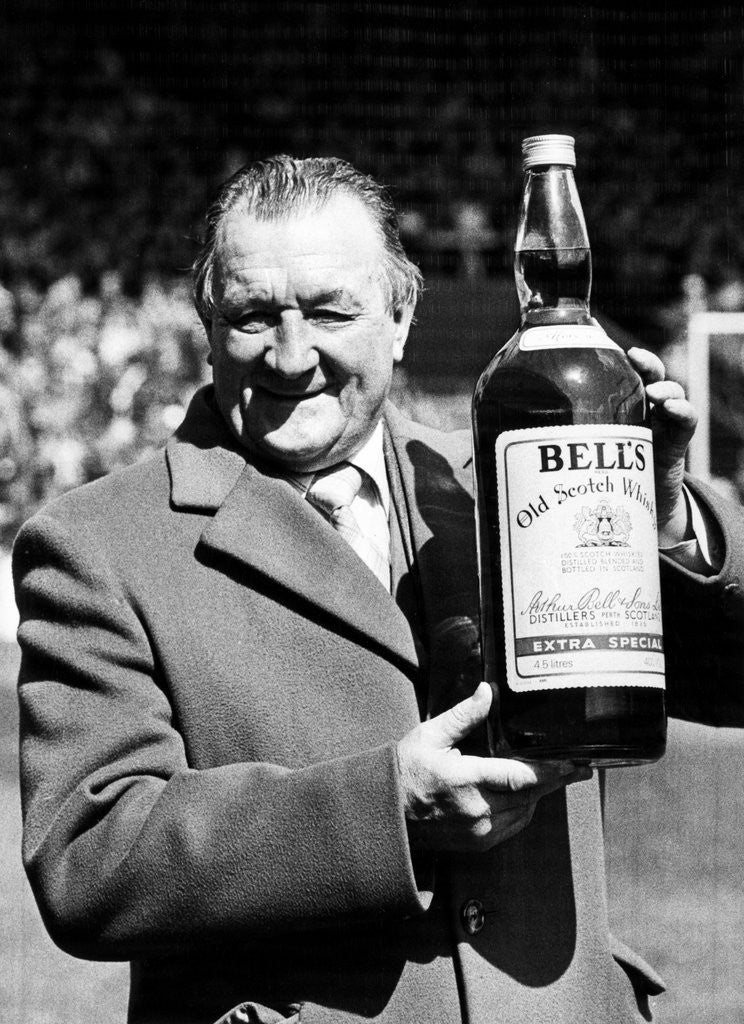 Detail of Liverpool manager Bob Paisley by Staff