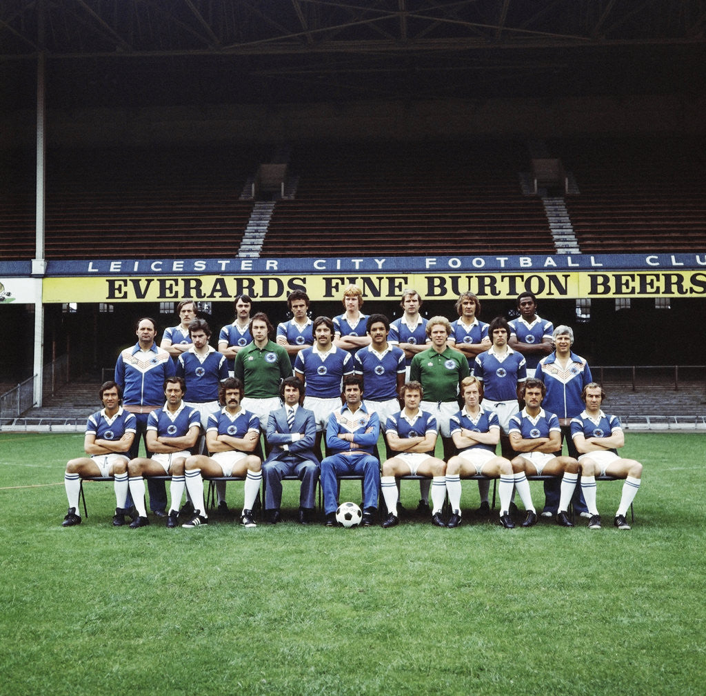 Detail of Leicester City 1977 by Staff