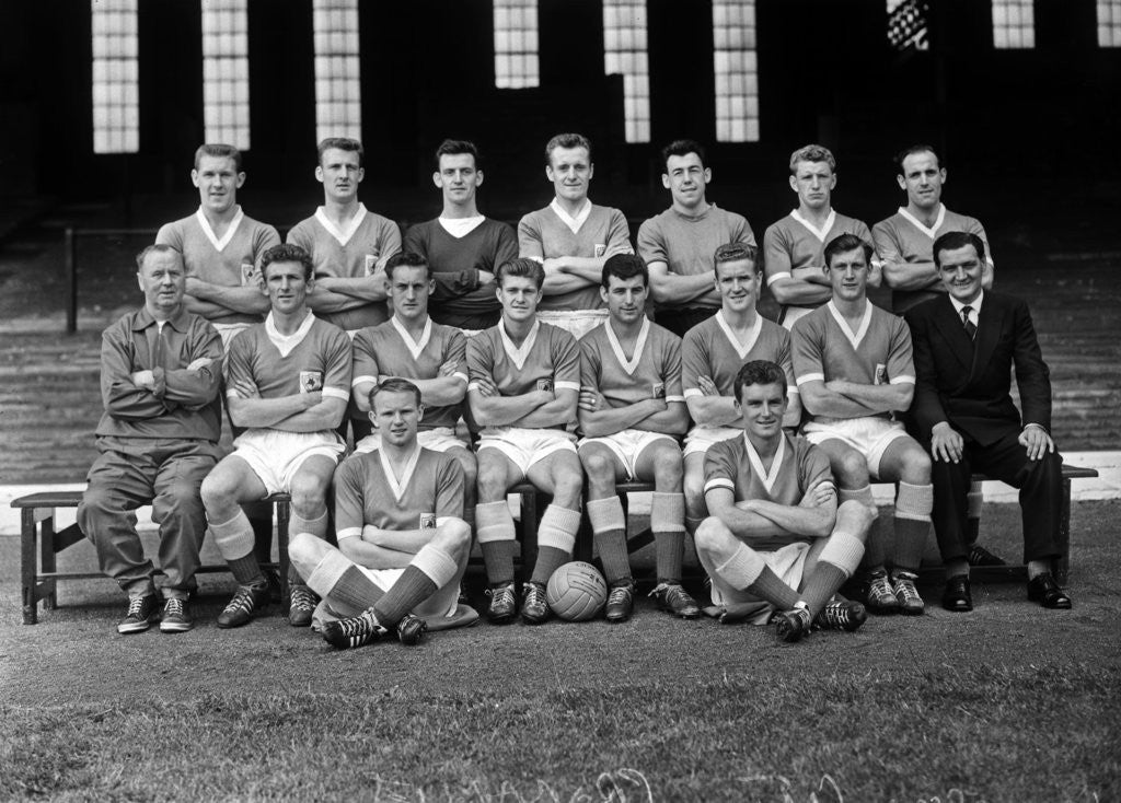Detail of Leicester City 1961 by Staff