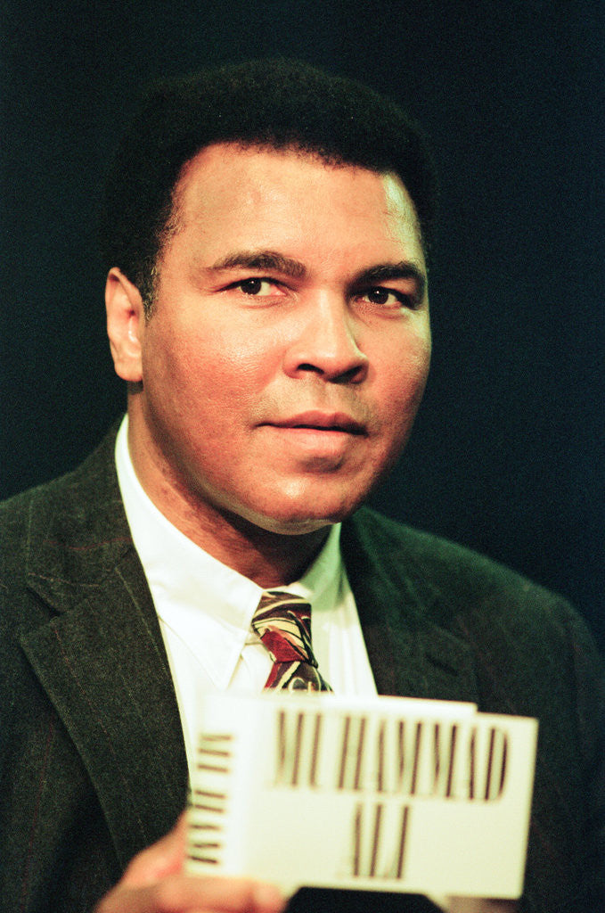 Detail of Muhammad Ali 1992 by Staff