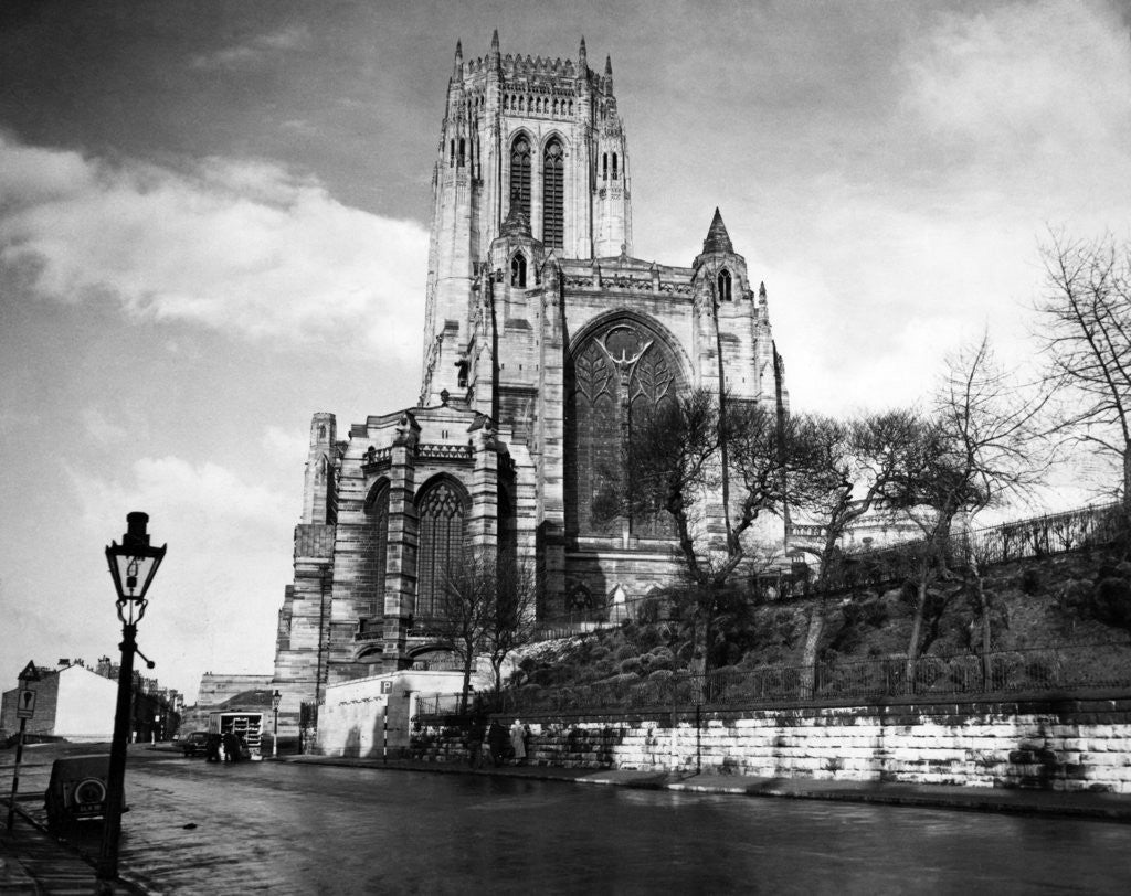 Detail of Liverpool Cathedral by Liverpool Post and Echo Archive