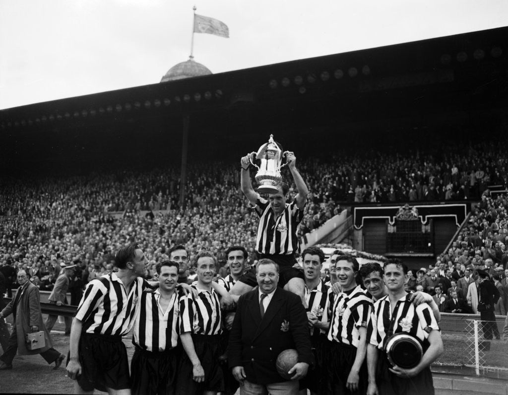 Detail of Newcastle United 1955 by Daily Herald