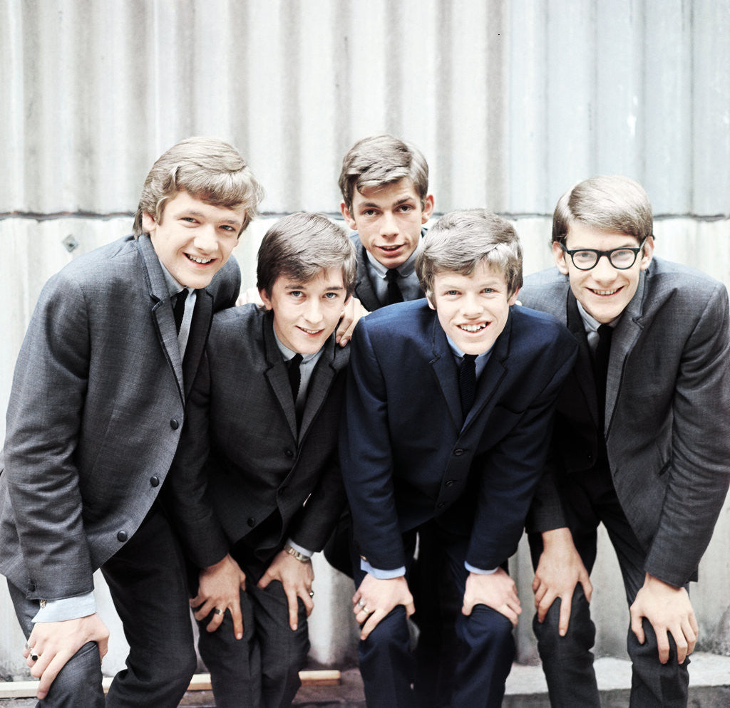 Detail of Herman's Hermits 1964 by Bill Ellman