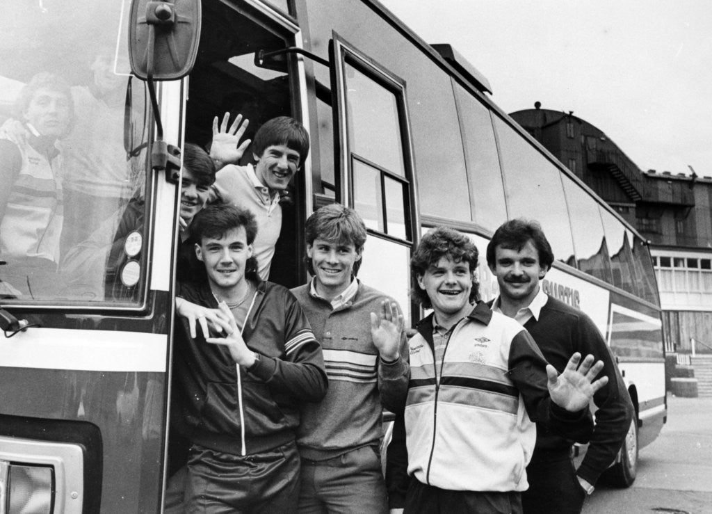 Detail of Newcastle United 1985 by NCJ Archive