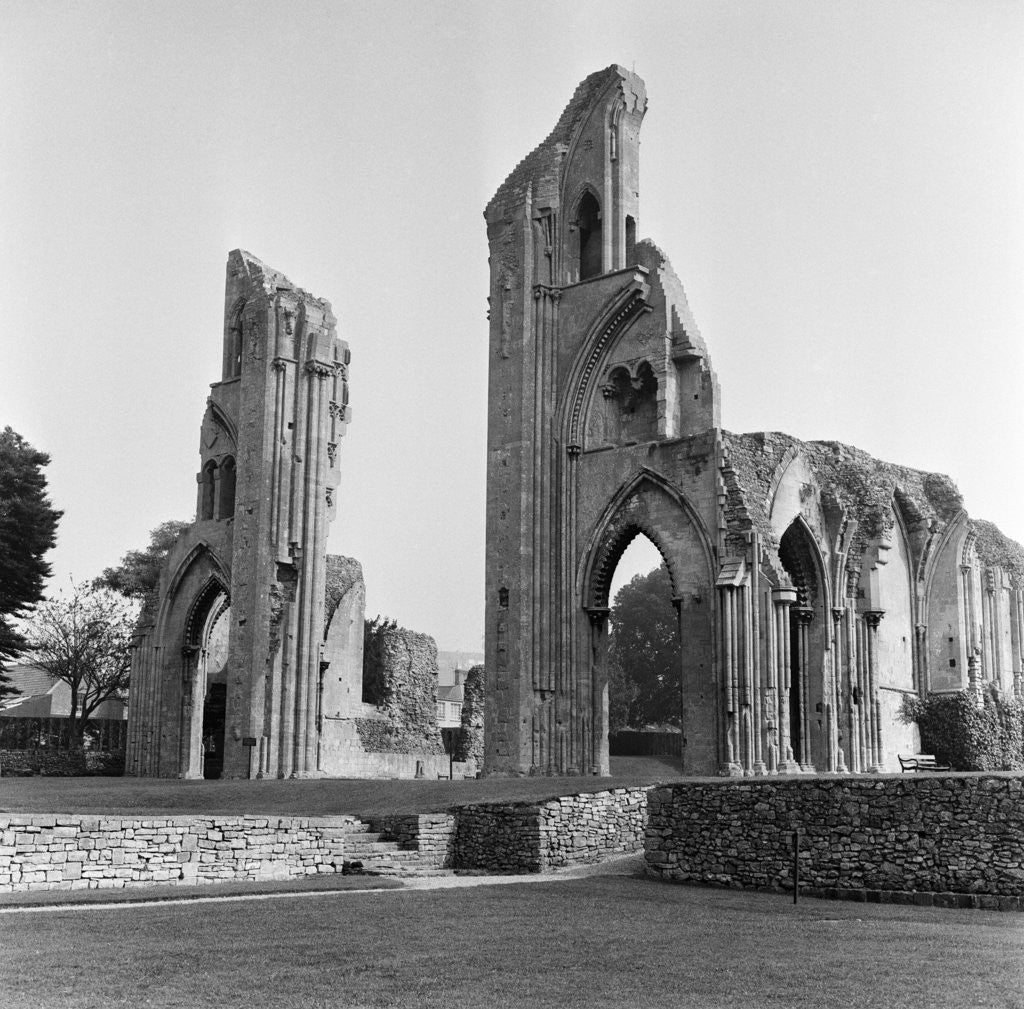 Detail of Glastonbury Abbey, 1966 by Staff