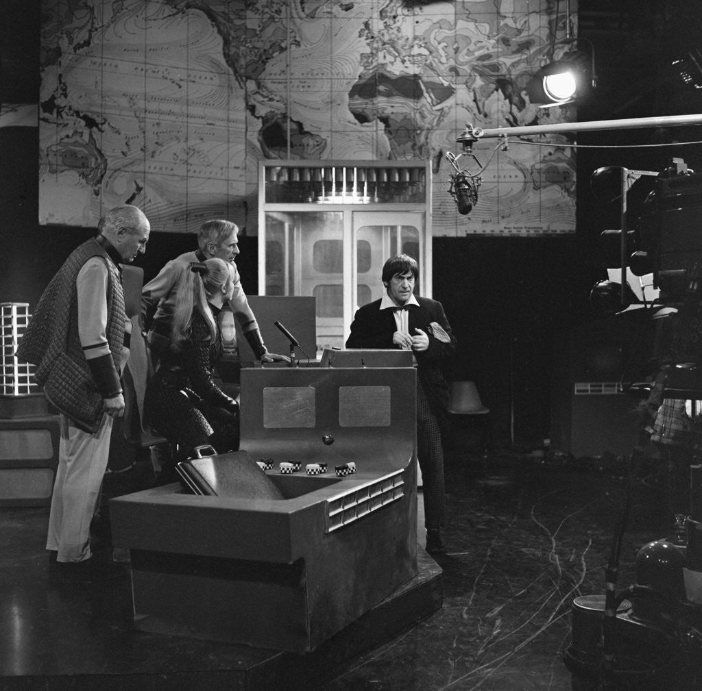 Detail of Doctor Who 1969 by Staff