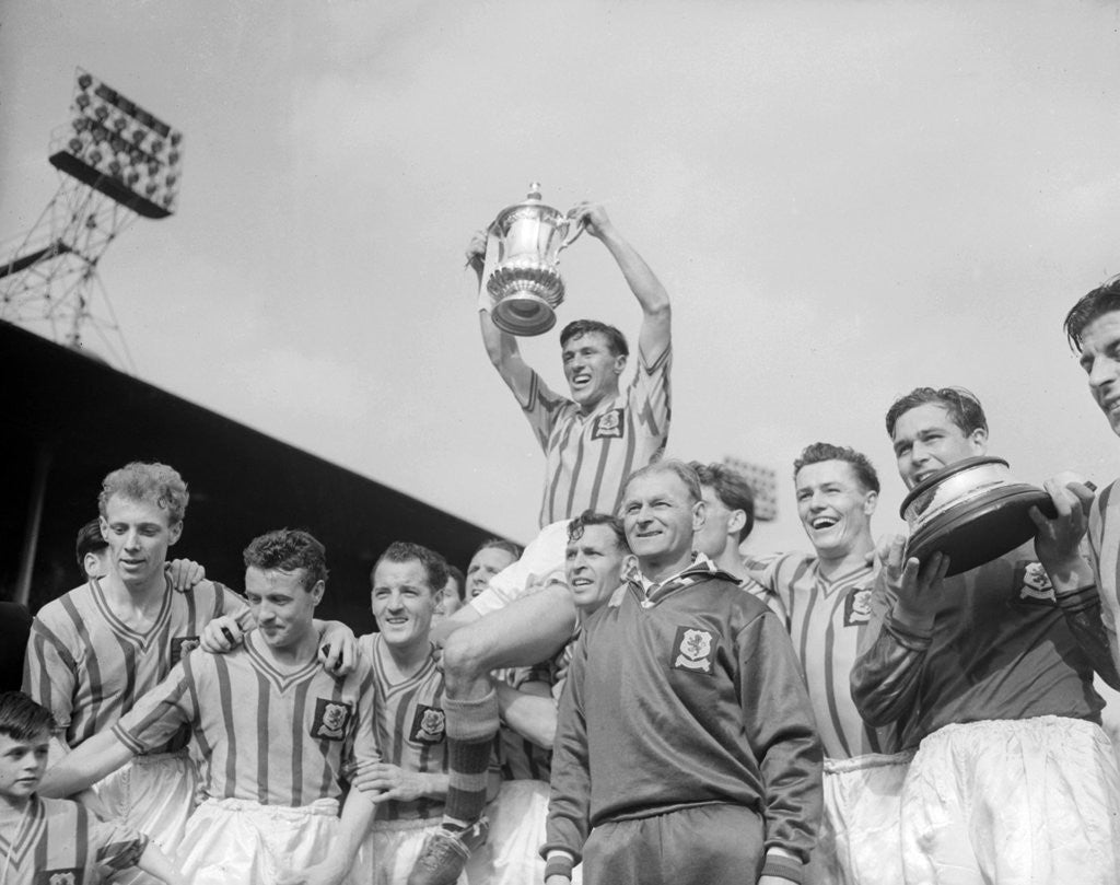 Detail of FA Cup Final 1957 by Ley Charman