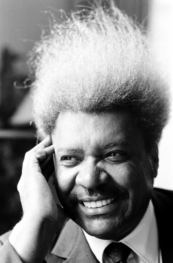 Detail of Don King by Nigel Wright