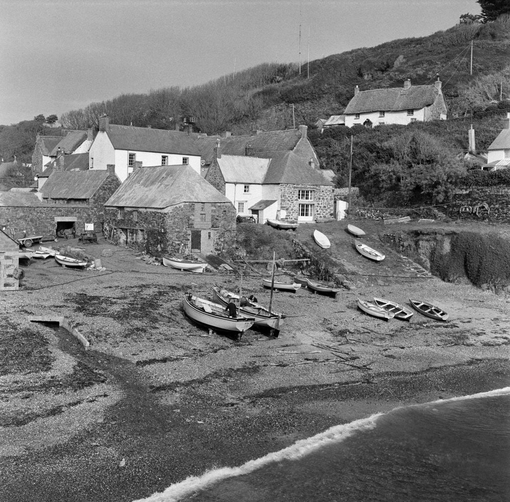 Detail of Cadgwith Cove 1962 by Staff