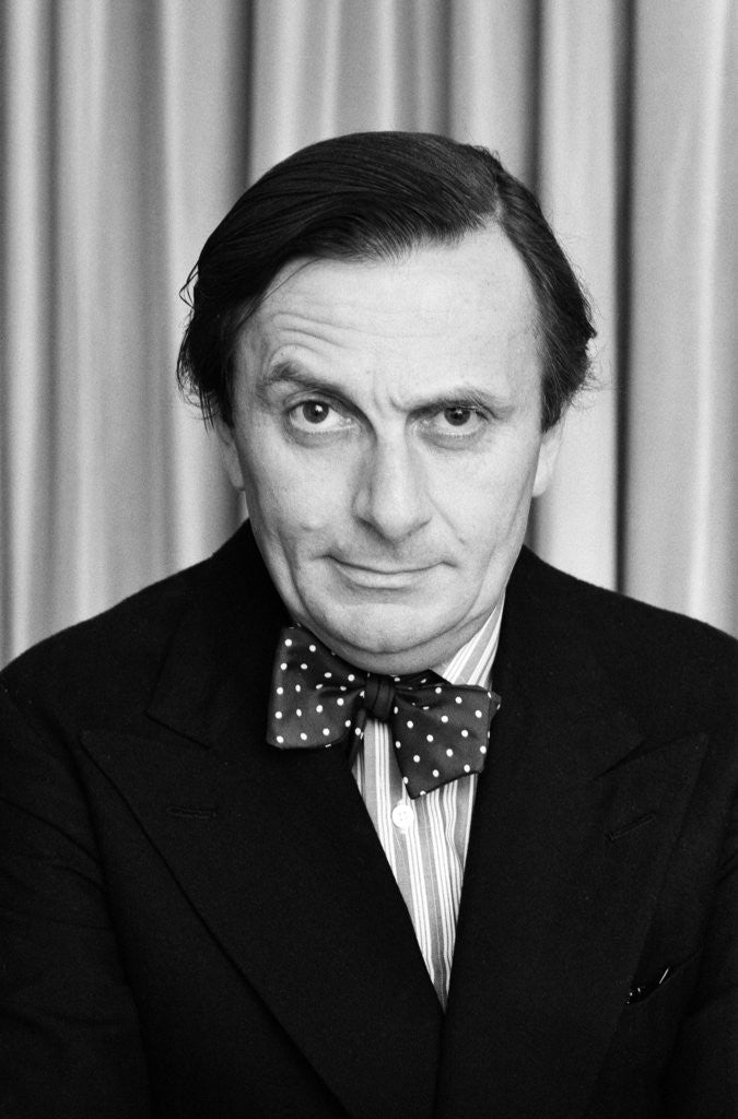 Detail of Barry Humphries by Carl Bruin