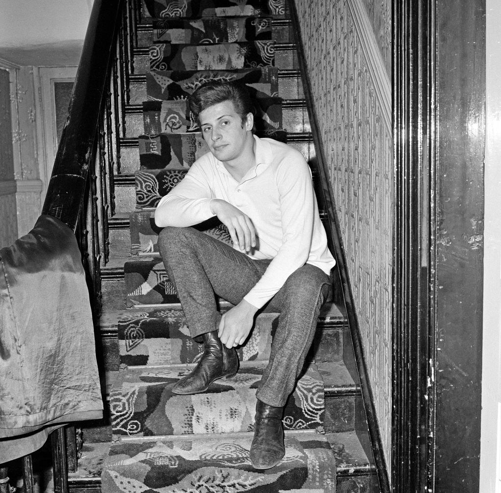Pete Best, former Beatles drummer, at home in Liverpool in ...