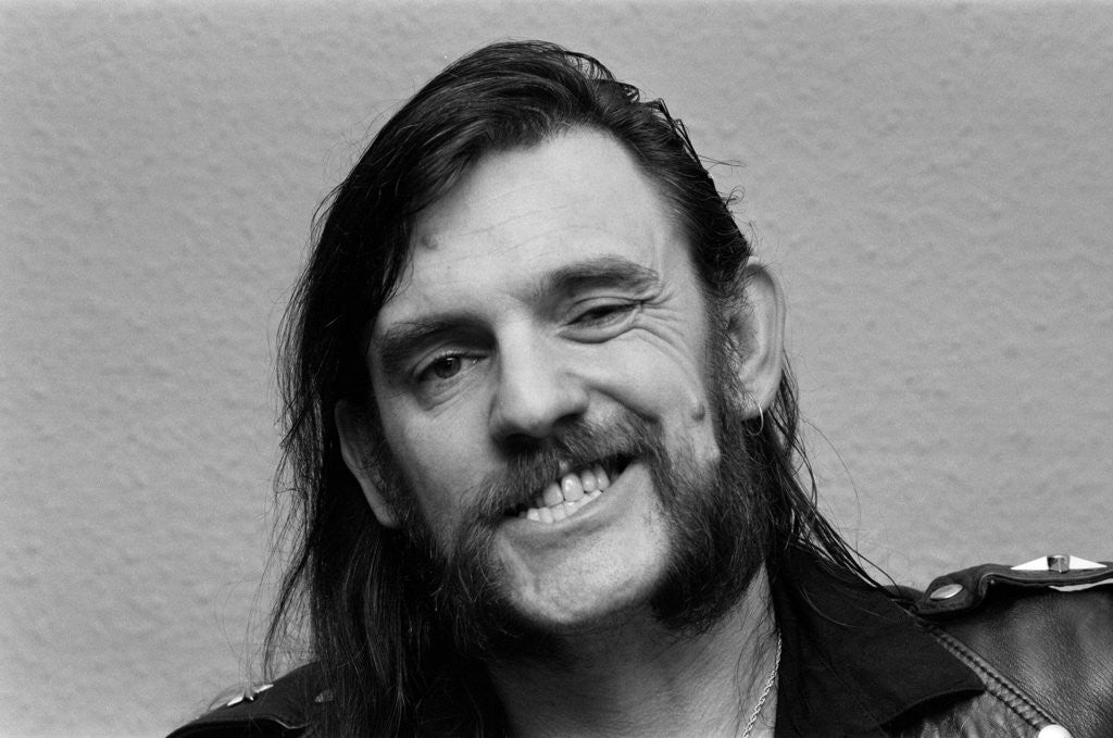 Detail of Lemmy from Motorhead by Staff