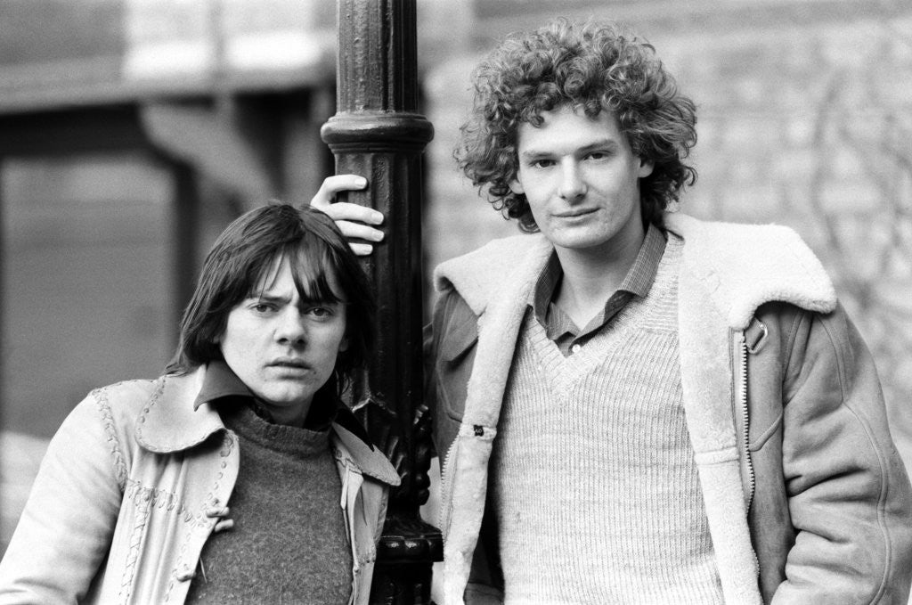 Detail of Jack Wild and Mark Lester, 1981 by Brendan Monks