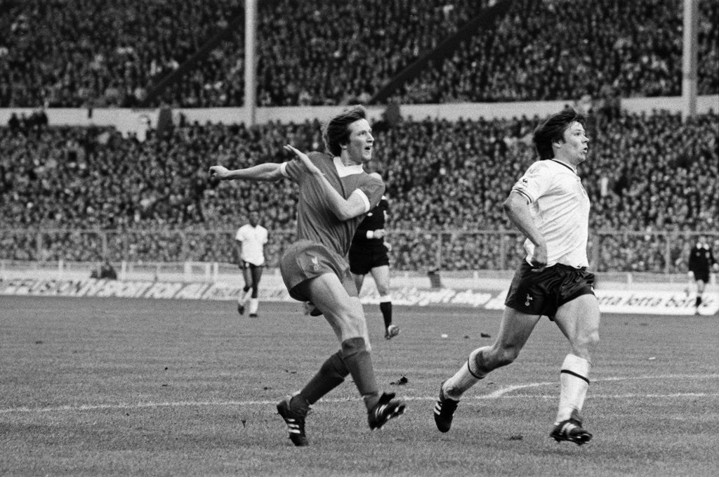Detail of Liverpool v Tottenham Hotspur, 1982 by Cook / Olley