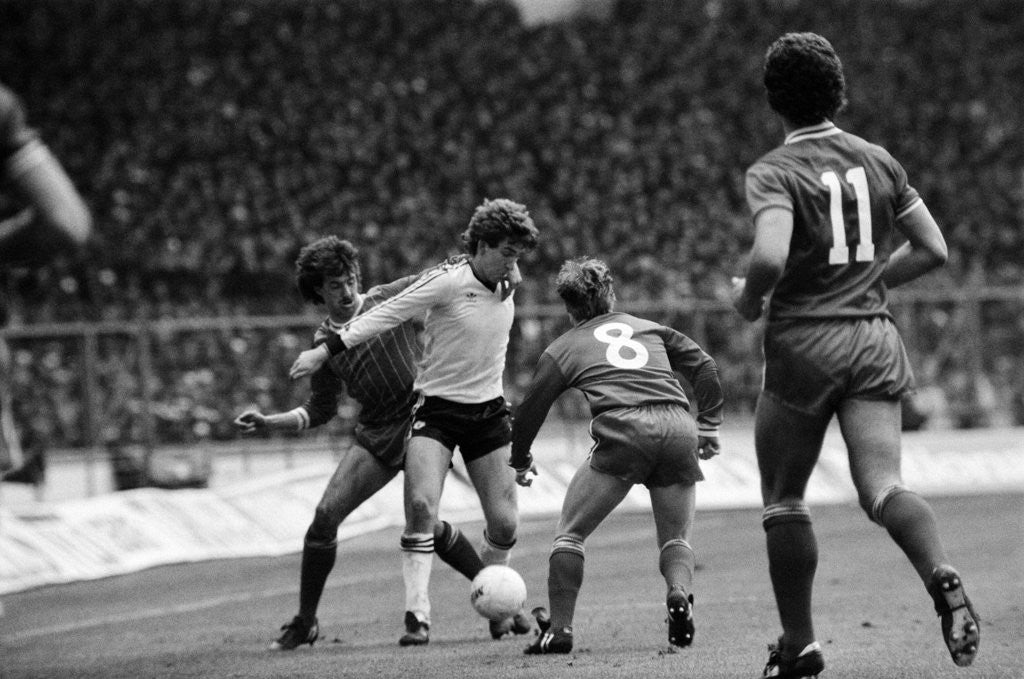 Detail of Liverpool v Manchester United, 1983 by Cook / Olley