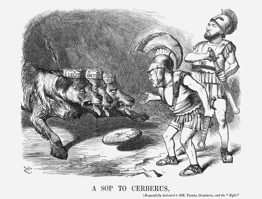 A Sop to Cerberus by Joseph Swain