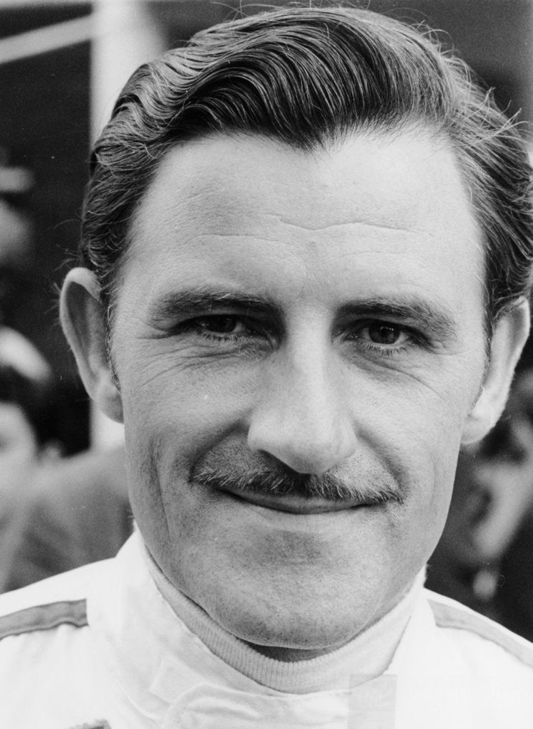 Detail of Graham Hill by Anonymous