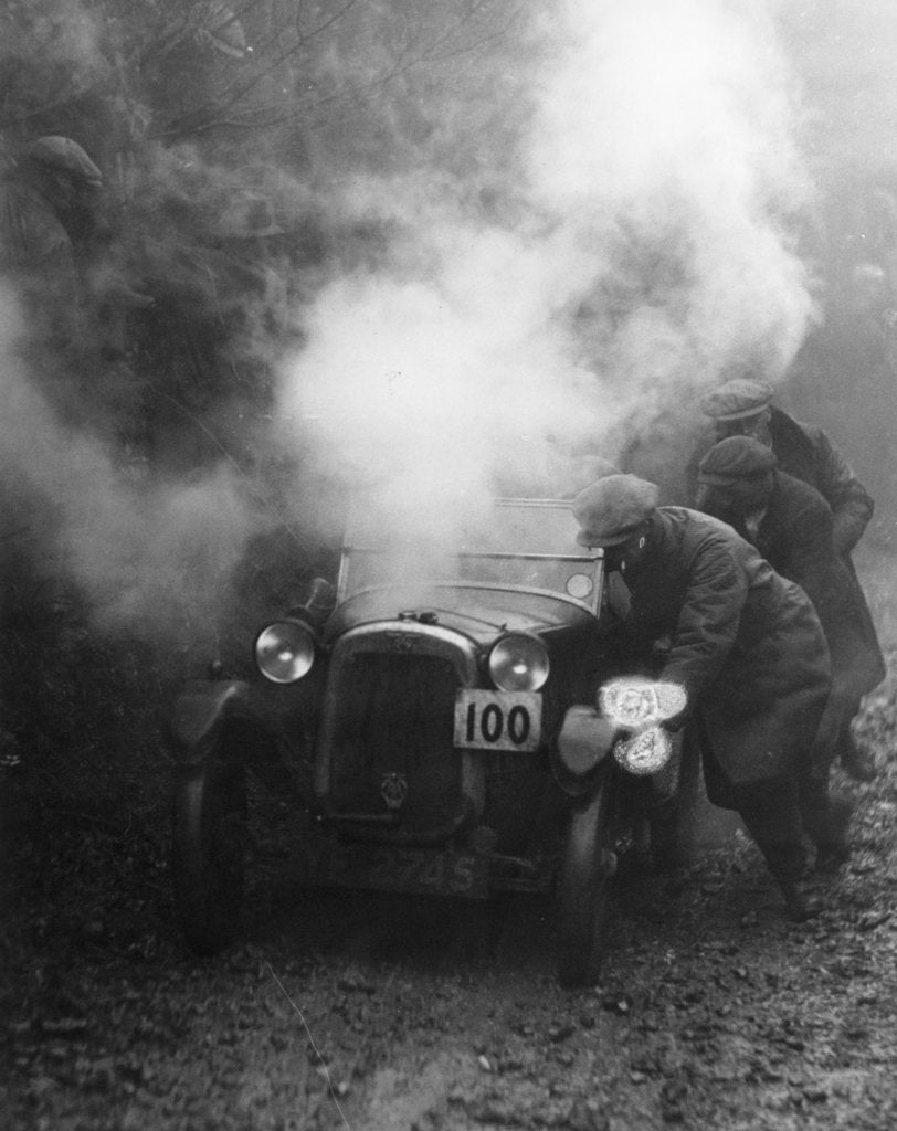 1928 Austin 7 Gordon England cup at the Exeter trial, (c1928?)