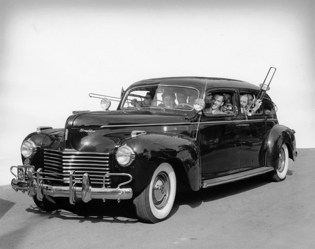 Detail of 1940 Chrysler Imperial by Anonymous