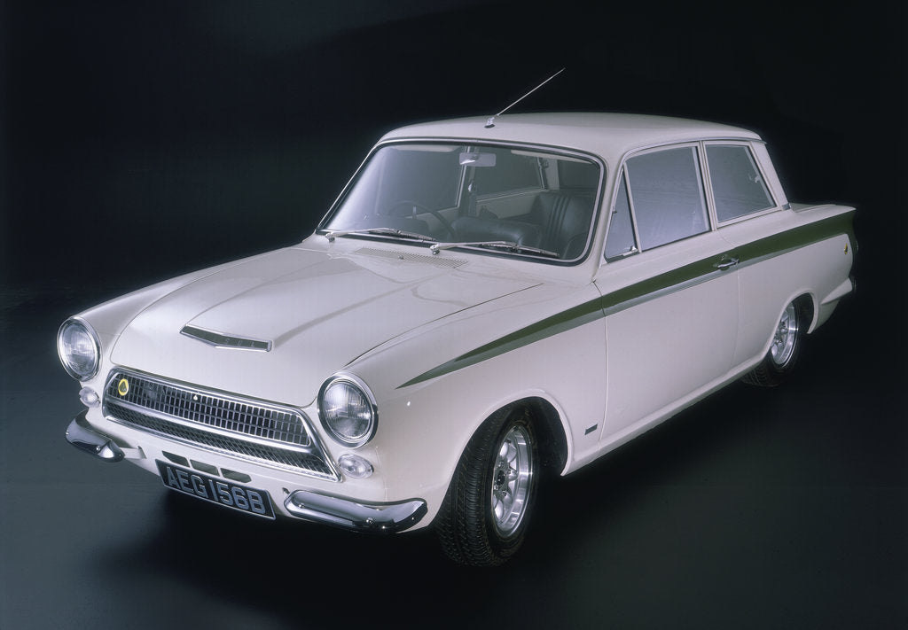 1964 ford lotus cortina mk1 posters prints by unknown. Black Bedroom Furniture Sets. Home Design Ideas