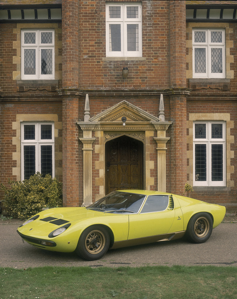 1968 Lamborghini Miura Sv Posters Prints By Unknown
