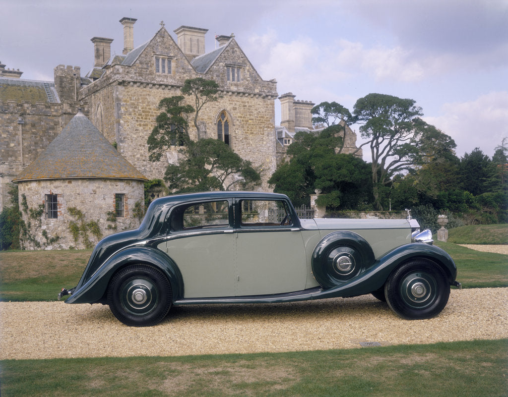 Detail of 1938 Rolls-Royce Phantom III by Unknown