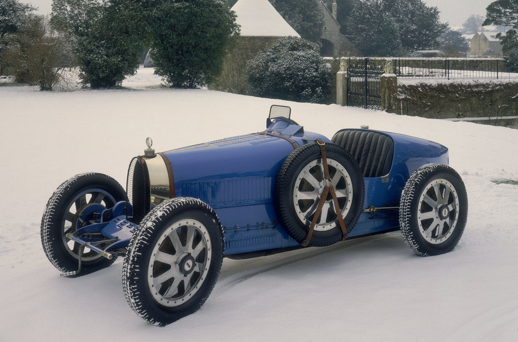 Detail of 1924 Bugatti Type 35 by Unknown