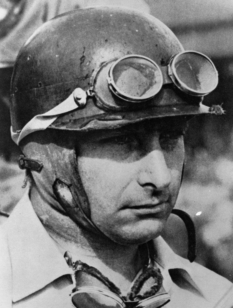 Detail of Juan Manuel Fangio by Anonymous