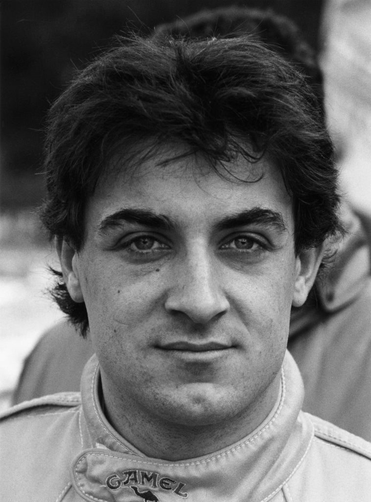 Detail of Jean Alesi by Anonymous