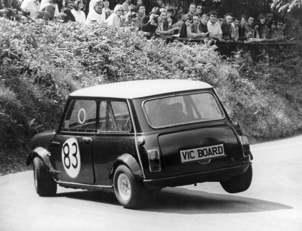 Detail of Mini Cooper S, Wiscombe Hill Climb by Anonymous