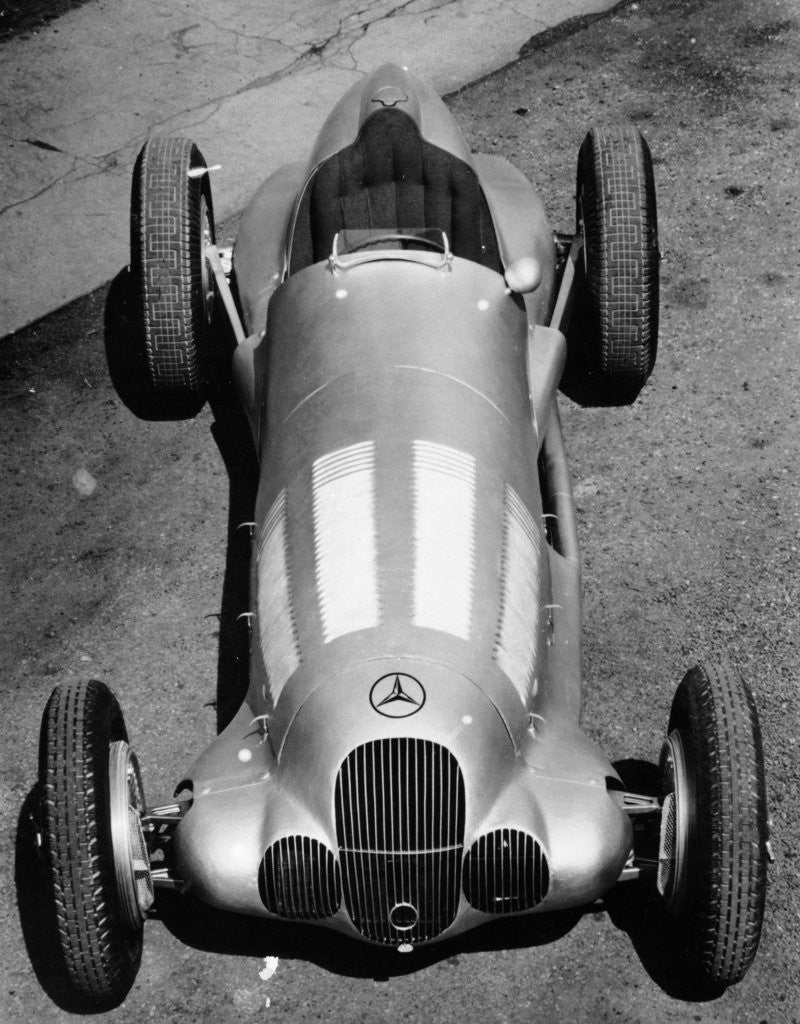 Detail of 1937 Mercedes-Benz W125 Grand Prix car by Anonymous