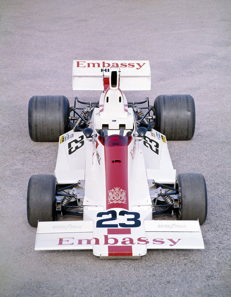 Detail of 1975 Embassy Hill GH2 Formula 1 racing car by Unknown