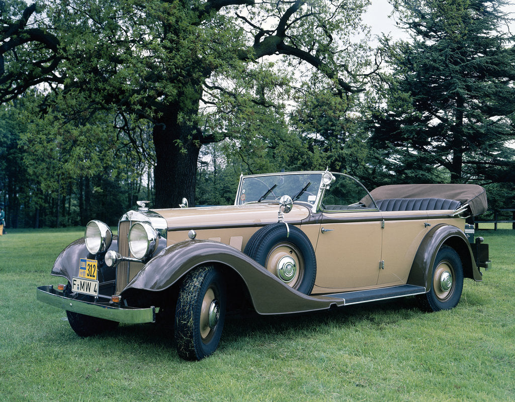 Detail of 1935 Horch 4.5 litre by Unknown